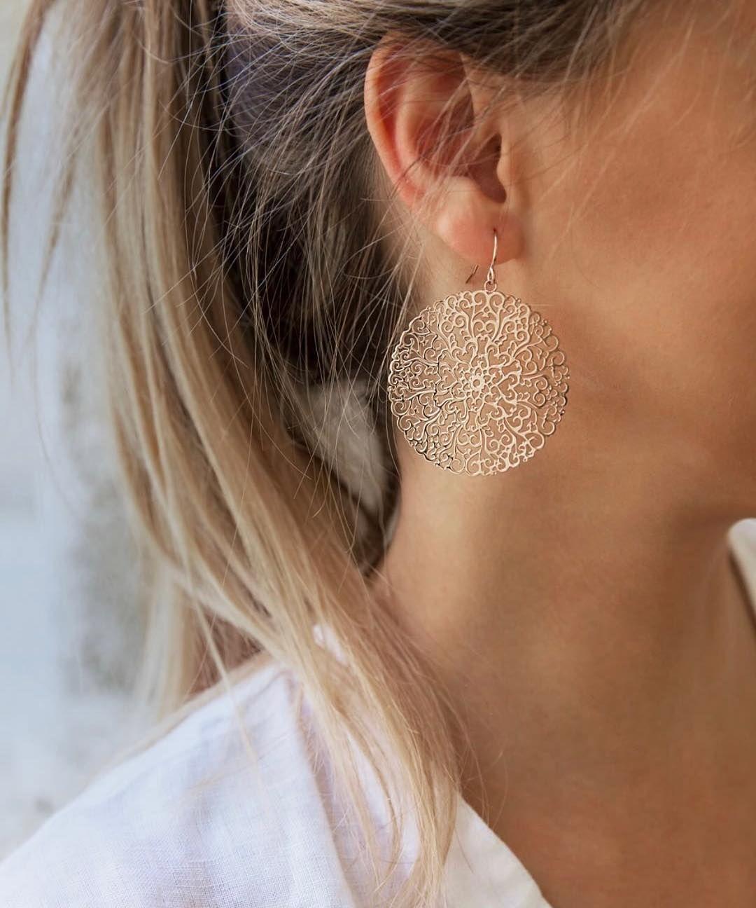 Verliebt in Ornamente – diese atemberaubenden Ohrringe sind aus …