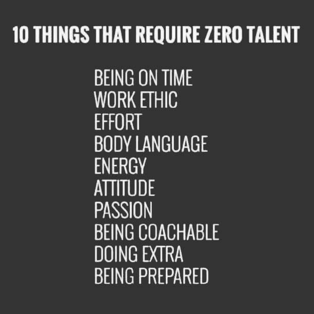 Image 10 Things That Require Zero Talent Work Quotes