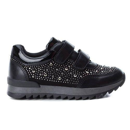bd64e3fceb8 XTI Casual παπούτσια για κορίτσια 55953 (Μαύρο) #xti #xti_shoes #paidika #