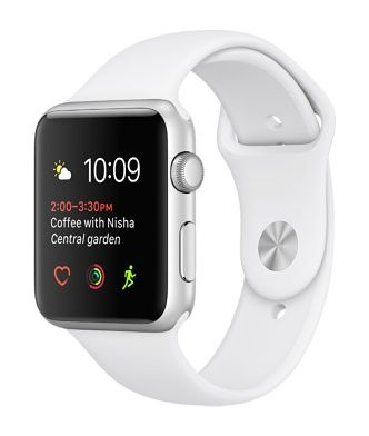 Apple Watch Series 2 Has Built In Gps And Water Resistance To 50 Meters Choose From Aluminum Stainles Apple Watch Silver Buy Apple Watch Cheapest Apple Watch