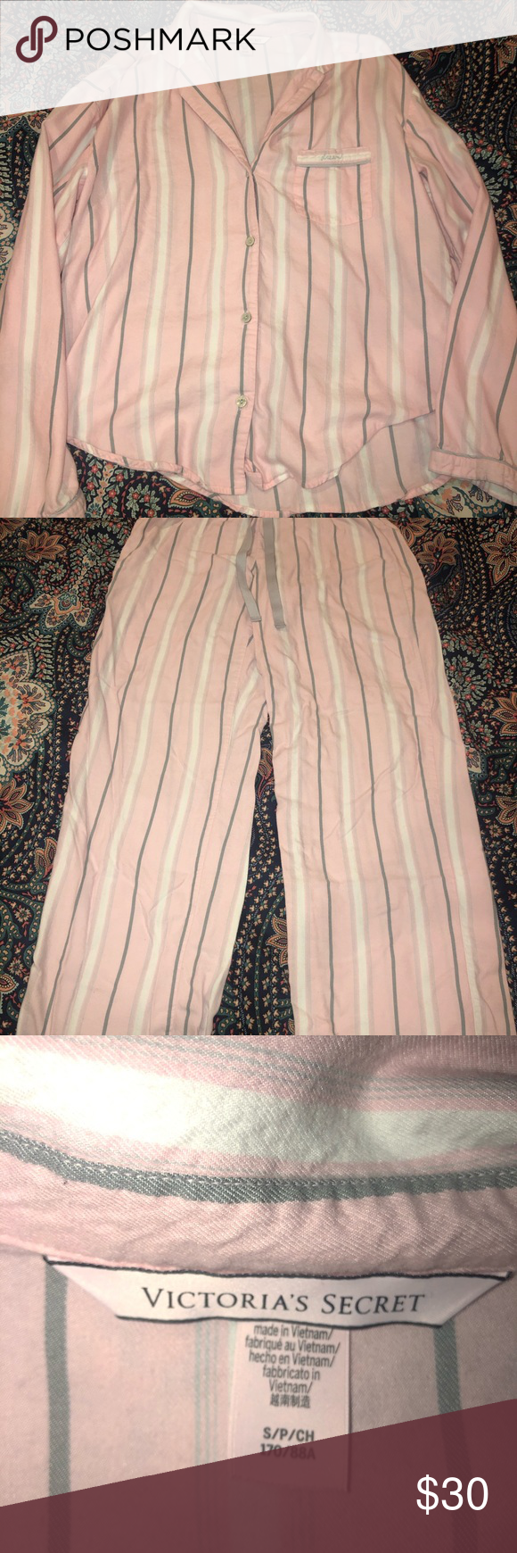 VS pajama set Excellent condition Victoria's Secret Intimates & Sleepwear Pajamas #myposhpicks