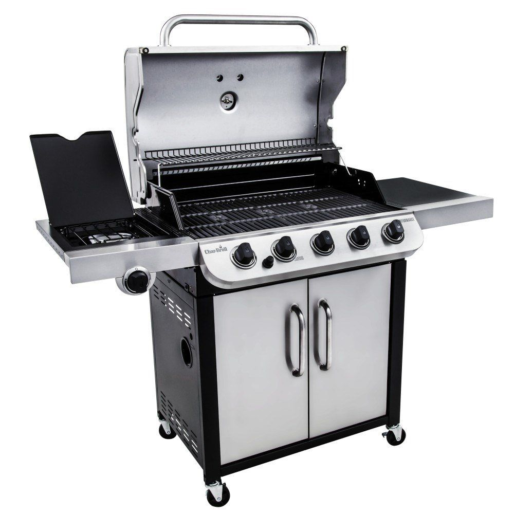 Performance Series 5 Burner Gas Grill Gas Grill Prefab Outdoor Kitchen Char Broil