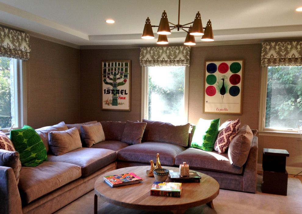 Image result for decorating with a sectional couch | Boho ...