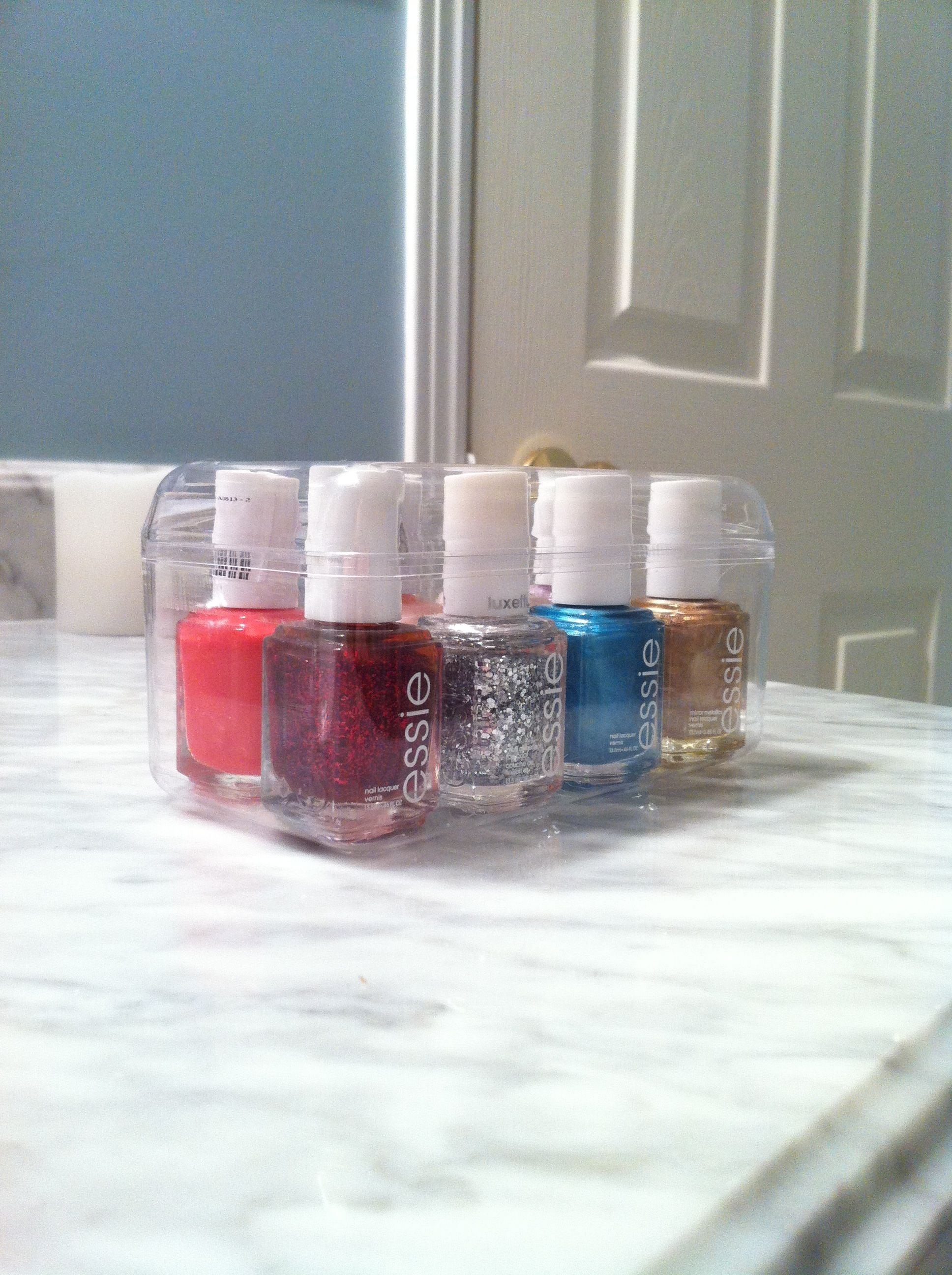 Empty Ferrero Rocher box makes perfect storage for Essie polish ...