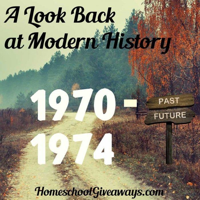 A Look Back At Modern History Unit 2 1970 1974 Modern History