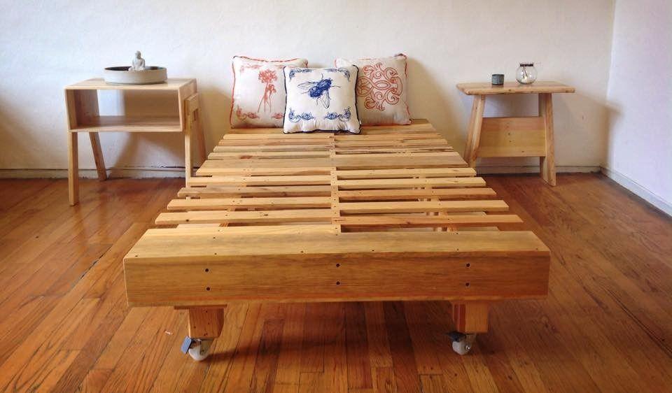 Resultado de imagen para bases para cama de tarimas | Muebles eleg ...