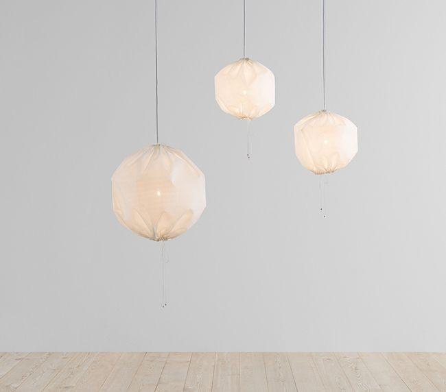 Lovely Market - News - Suspensions aériennes Kuu Lamp