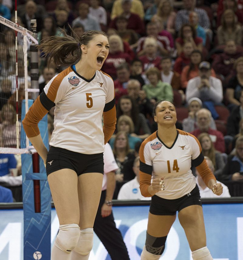 The Official Website Of The University Of Texas Athletics Sports Women Female Volleyball Players Women Volleyball