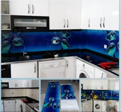 3D backsplash panel - the best solution for kitchen | Backsplash ...