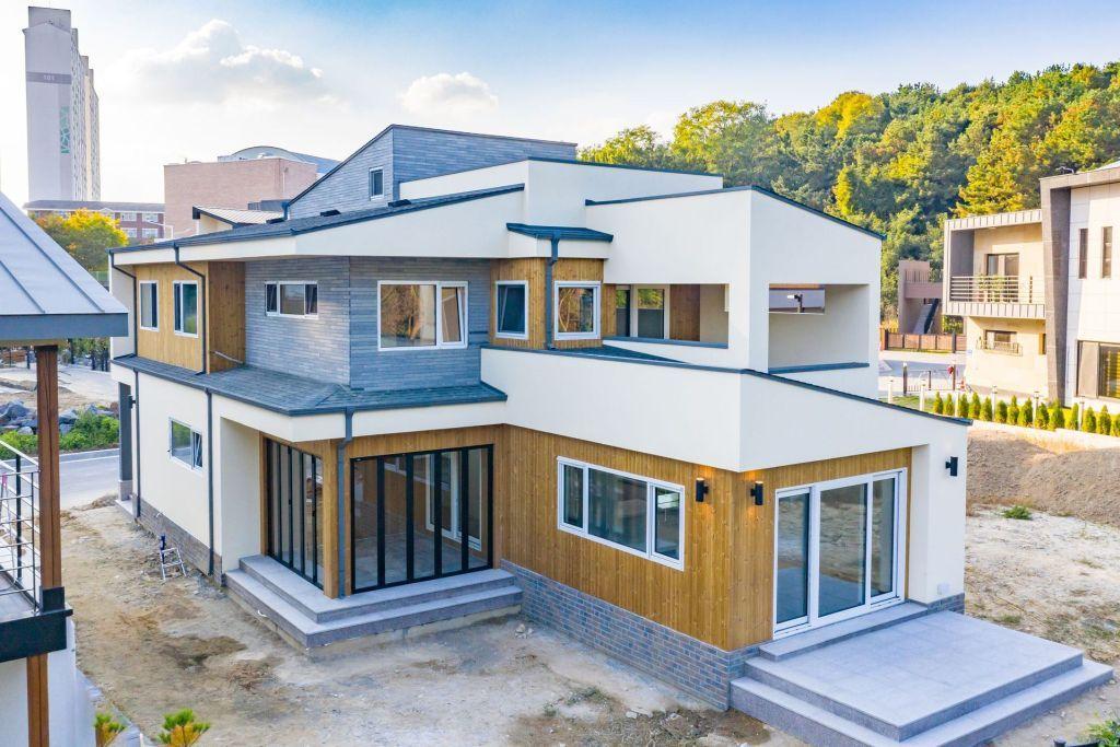 홈트리오 내 집 짓기의 시작 집 집 스타일 건축 디자인