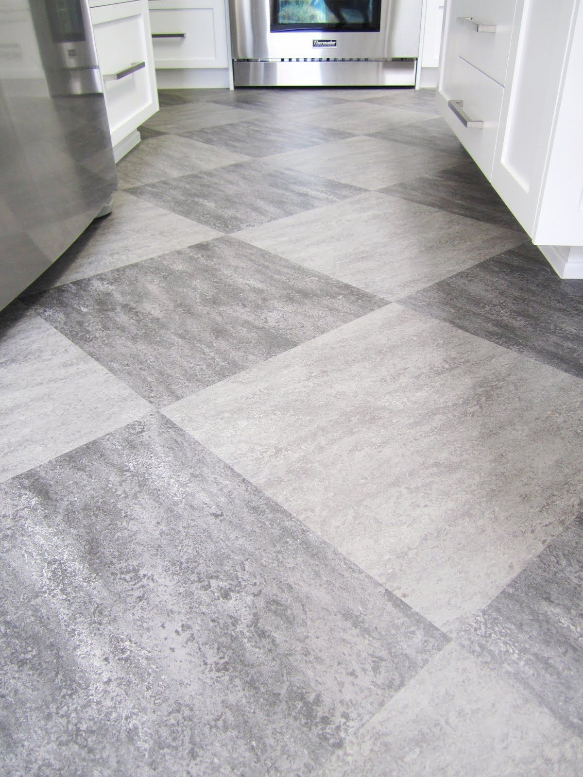 Qa architect client cook up a gorgeous functional kitchen grey cococozy qa architect client cook up a gorgeous functional kitchen cococozy grey tile floorslinoleum dailygadgetfo Images
