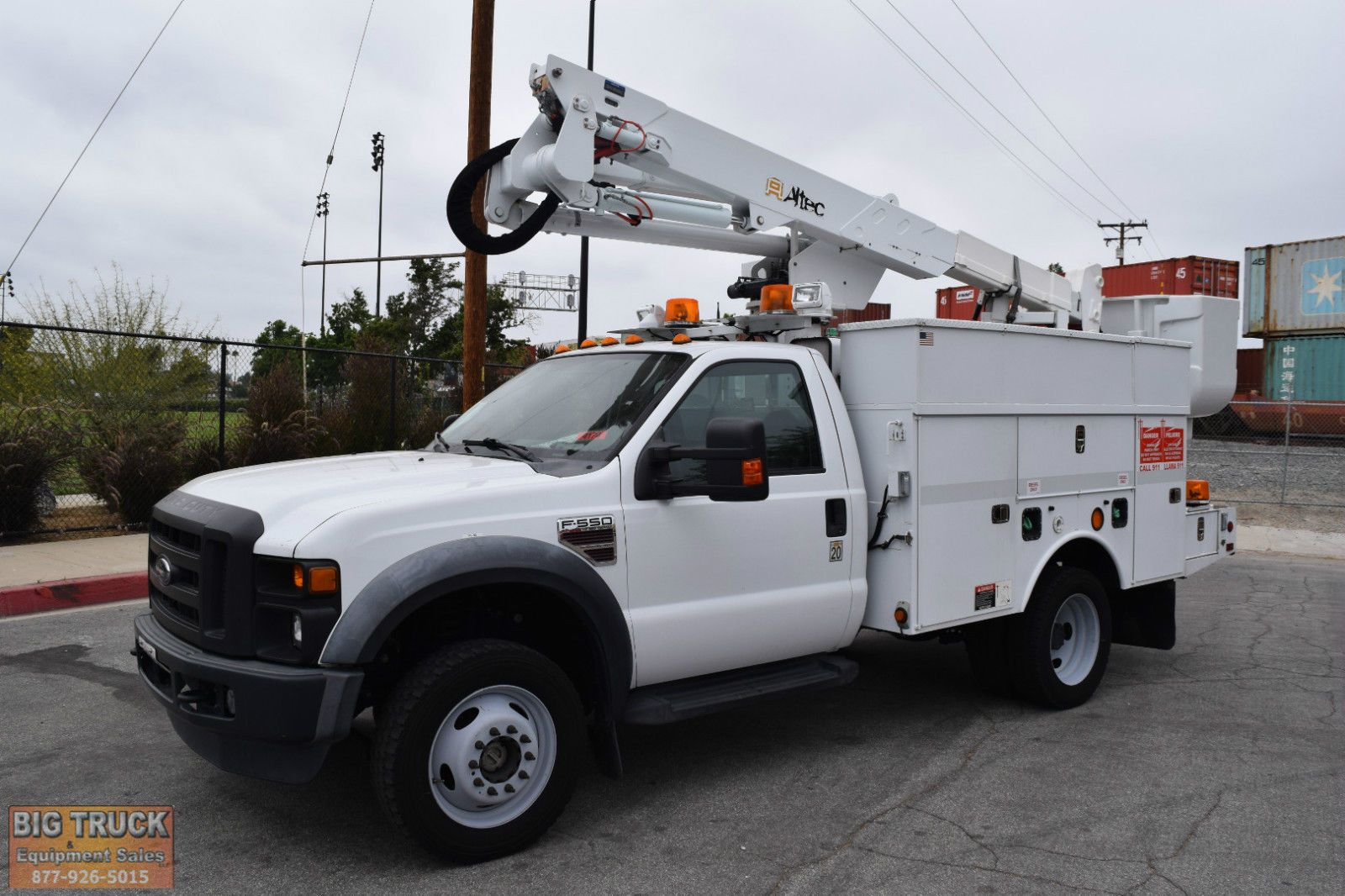 2009 ford bucket truck for sale