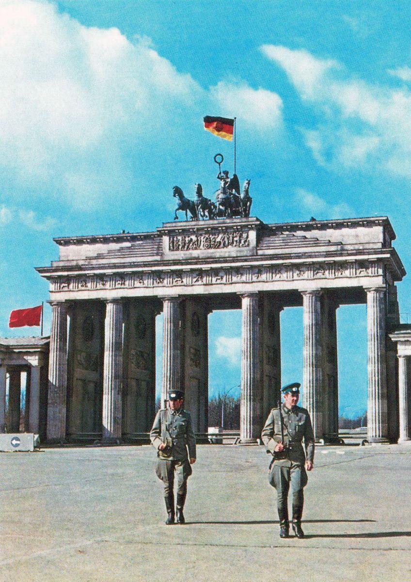 1970s East German Border Guards East Germany Berlin Germany East Berlin