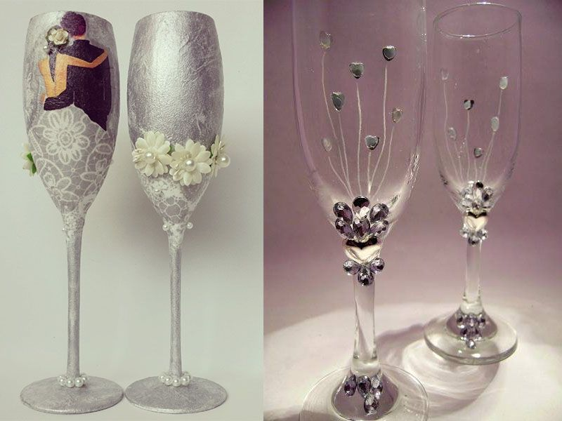 Decoracion de copas para boda imponentes imagenes bodas for Decoracion bodas