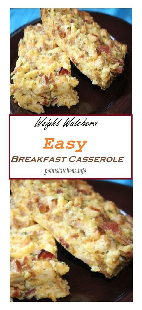 Easy Weight Watchers Breakfast Casserole