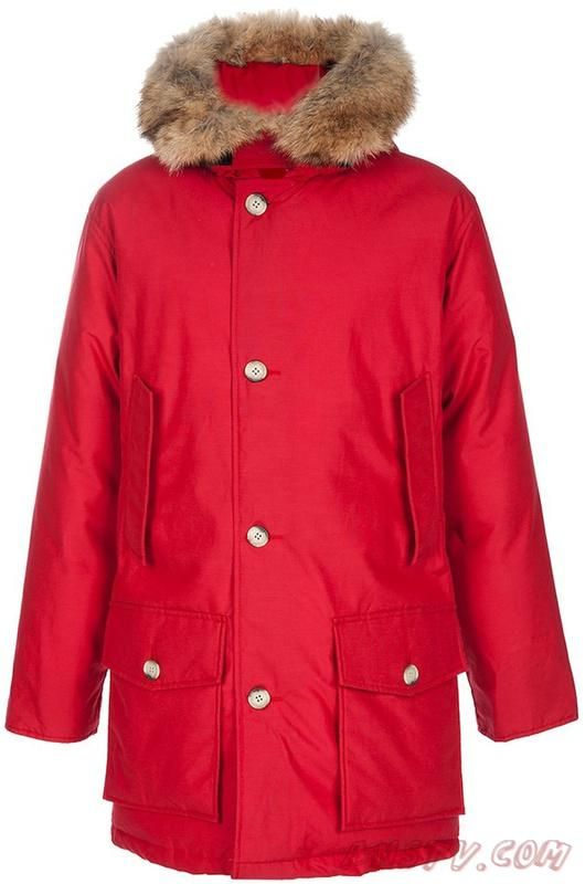 Outlets Anorak Rouge Padded Jacket Athletic Pjs Hommes Arctic Woolrich Athletic Wool xAqSIYR