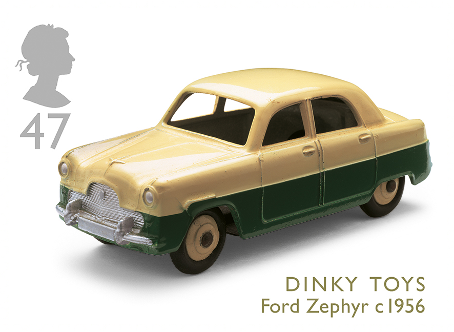 Dinky Toys Ford Zephyr C 1956 Specialstamp From 2003 Classic