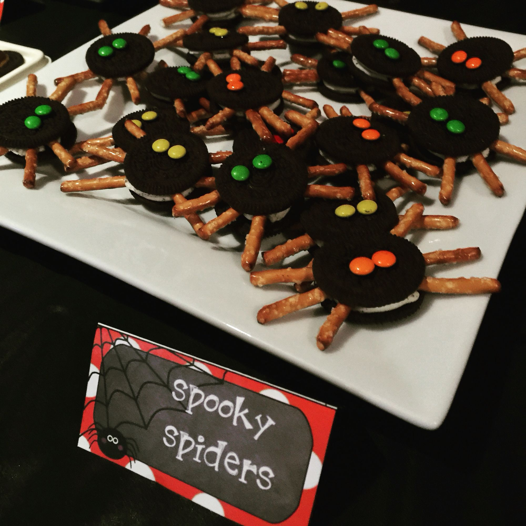 Spooky spiders for Hotel Transylvania Party                              …
