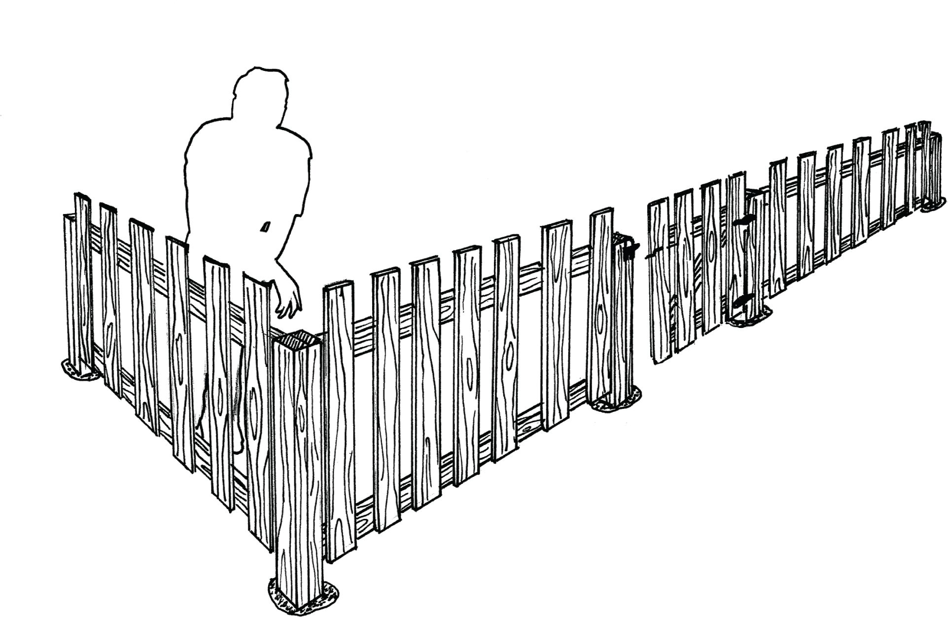 Pallet Fence With Instructions Pallet Projects For The