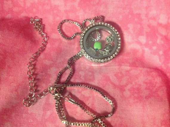 teacher gift, teacher end of year gift, locket with charms, teacher charms on Etsy, $12.50