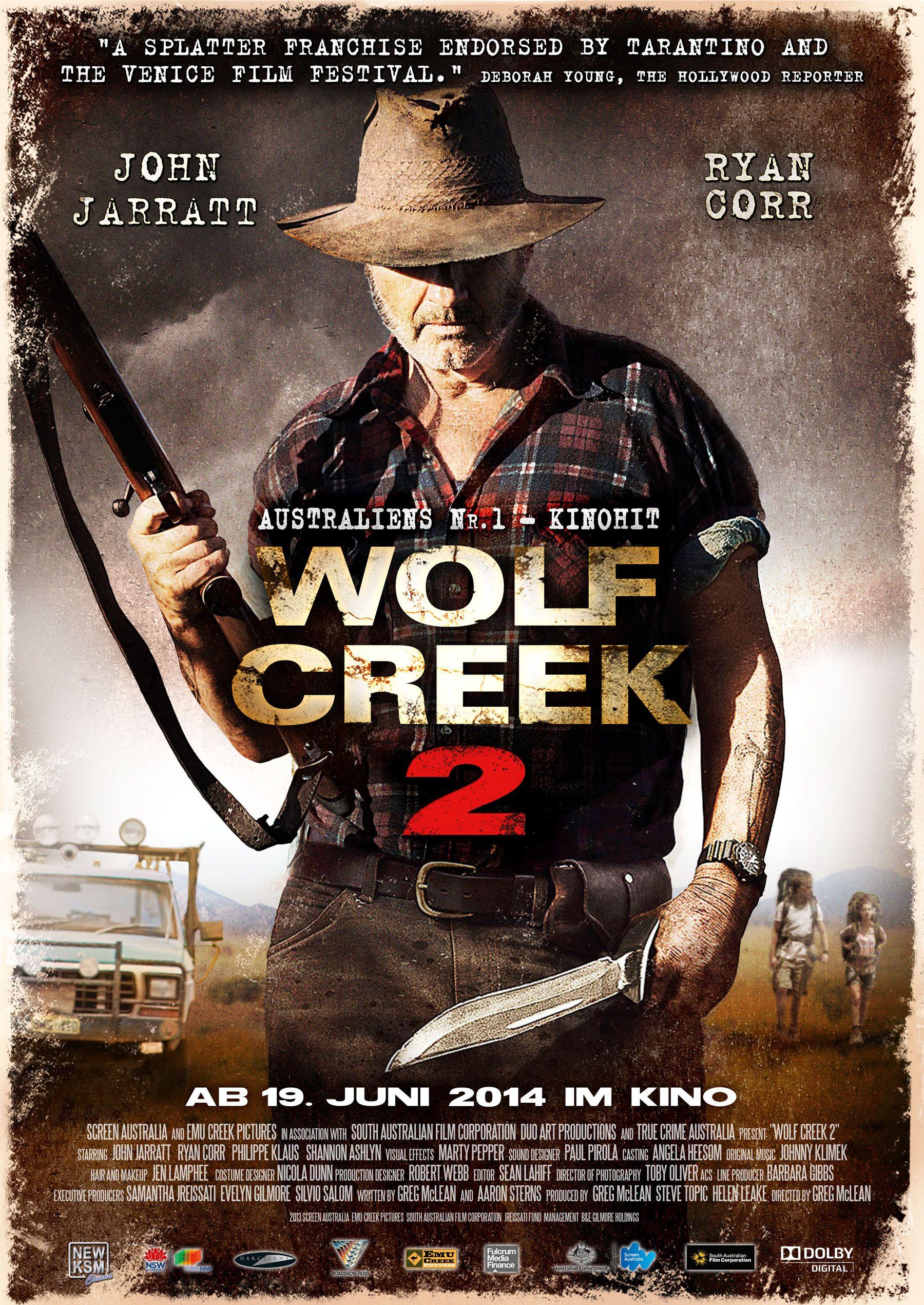 Wolf Creek 2 | Wolf creek, Best horrors, Film wolf