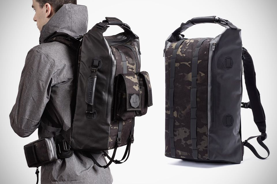 5c2208621486 Black Ember Modular Backpacks