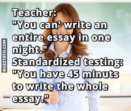 Essay writing on teachers
