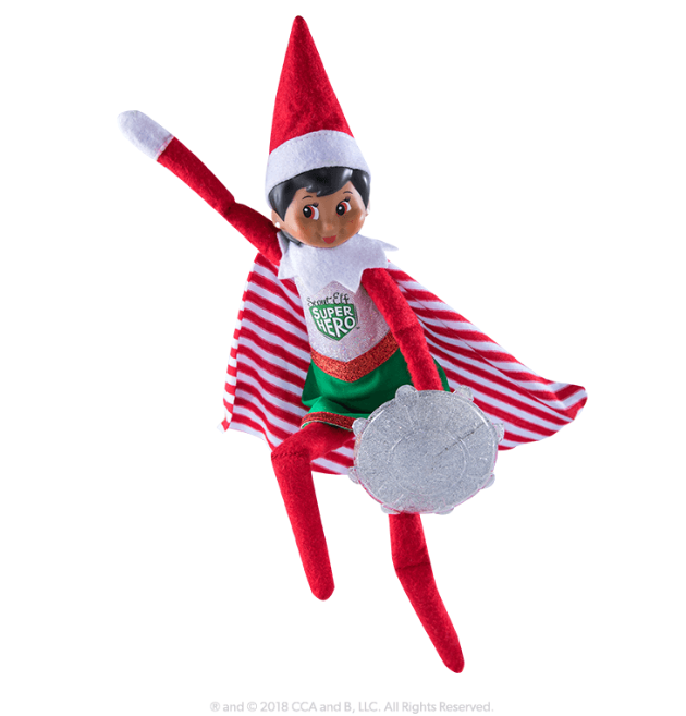Claus Couture Collection® Scout Elf Superhero Girl #elfontheshelfarrival