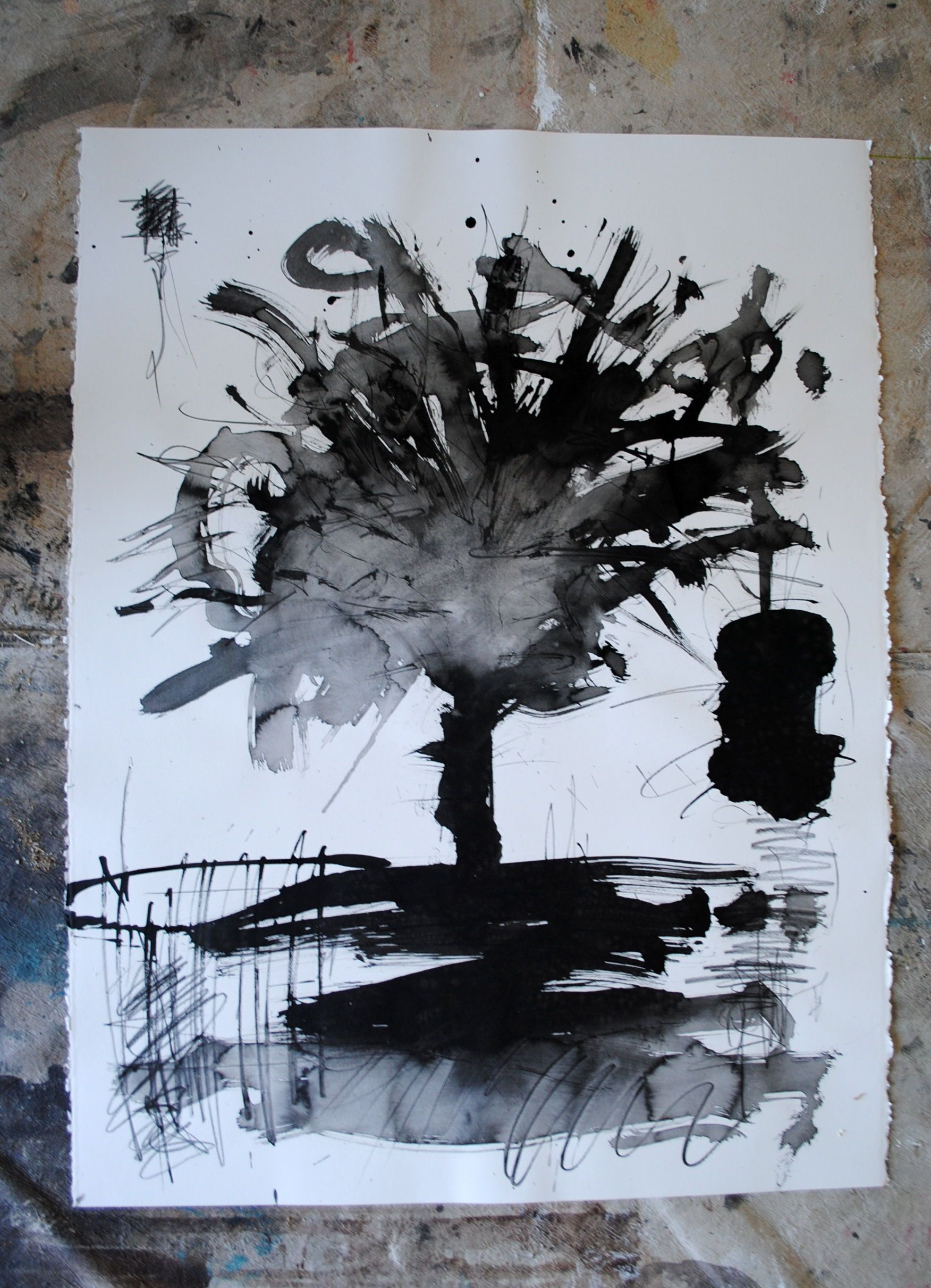The Hanging TreeInk on paper2013 | Les arts, Artiste ...