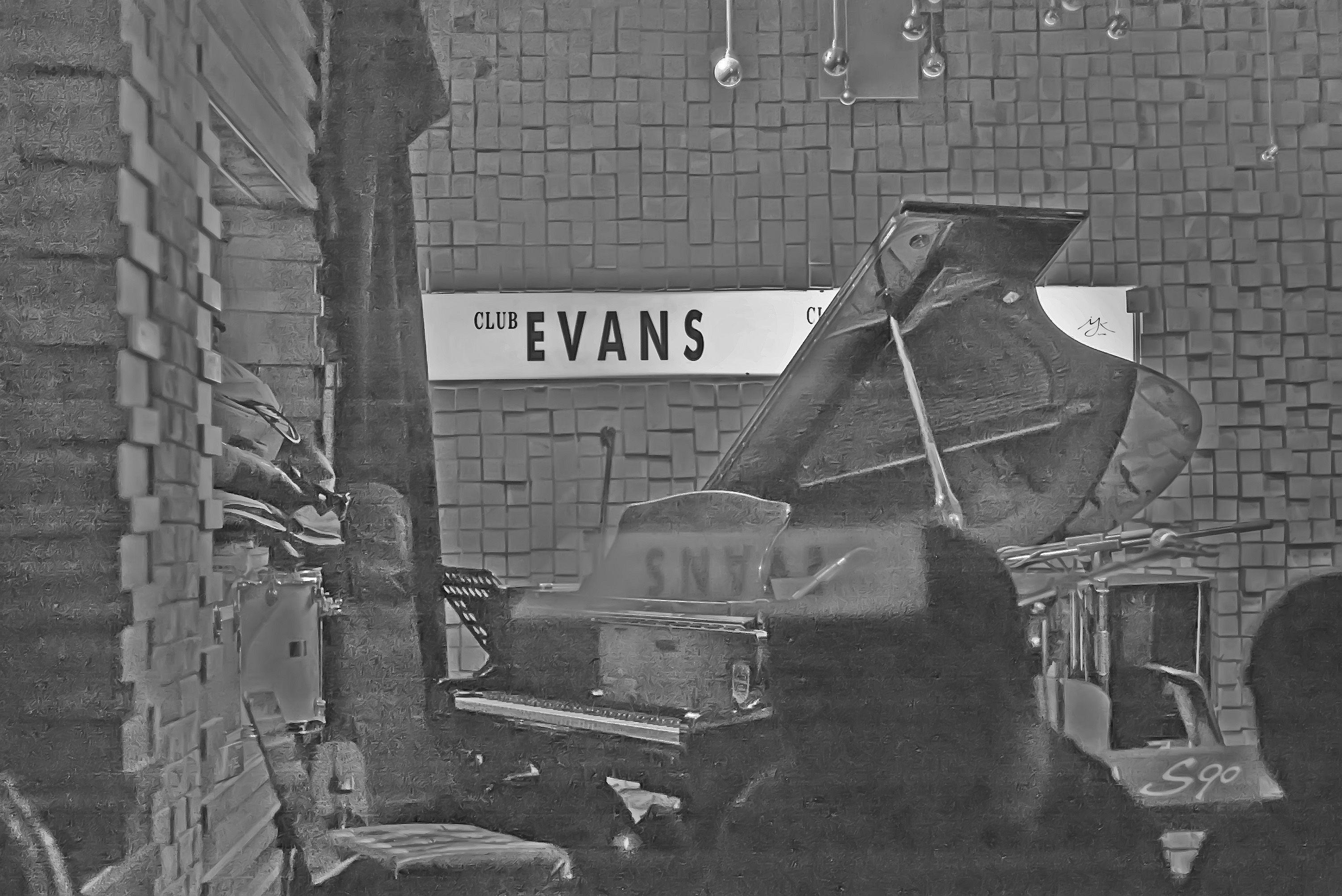 Jazz Day...  # Club Evans, 홍대, in 2006