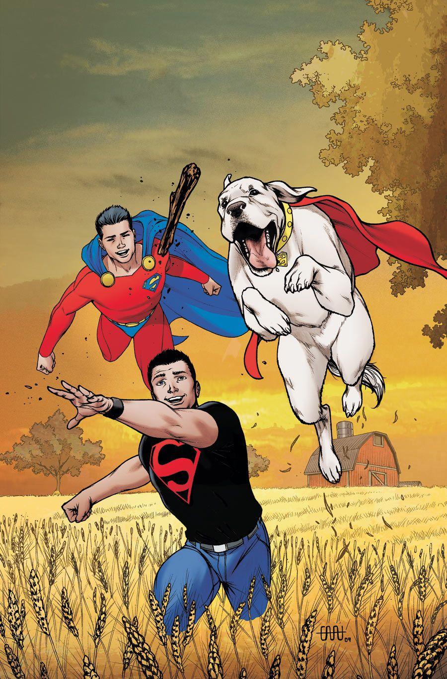 Superman, Superboy Krypto - WOW!! I had forgotten about Krypto!!