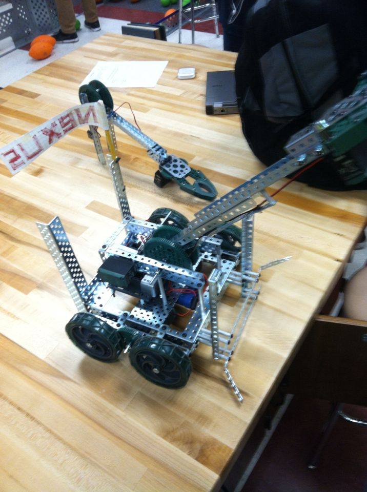 The Custom Made Swept Away Challenge Robot Made By Me The Robot