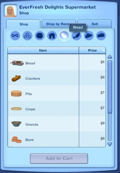 Mod The Sims - Cooking and Ingredients Overhaul + More