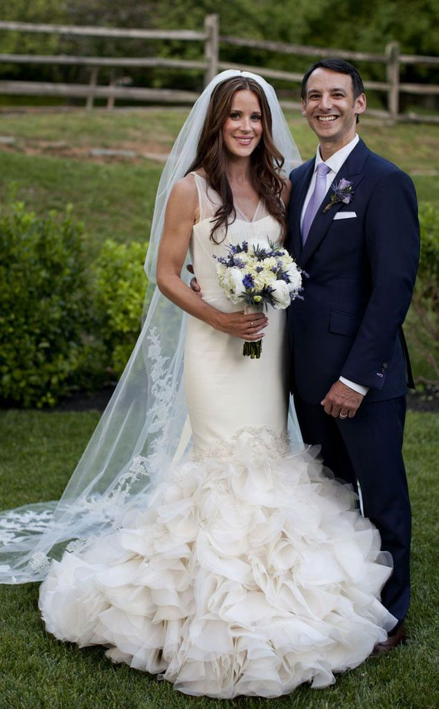Ashley Biden from Famous Brides in Vera Wang Wedding Gowns ...