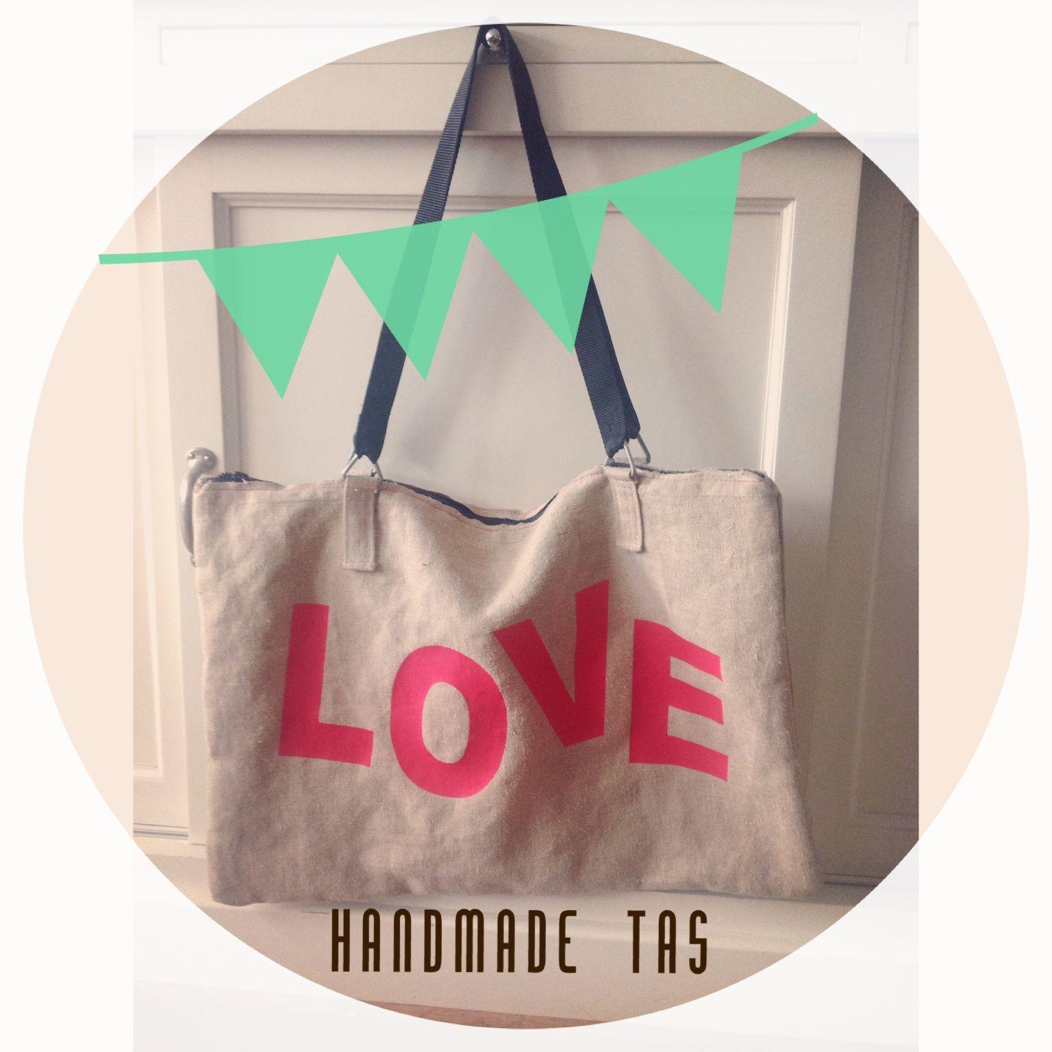 Handmade bag made out of Postbag. #postzak #postbag #diy bag