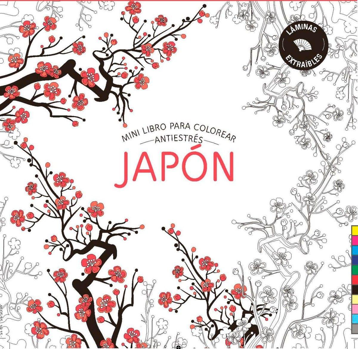 Mini libro para colorear, Japón - TELVA.COM | Pinterest
