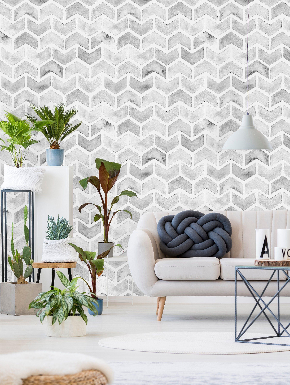 Removable Wallpaper Peel And Stick Wallpaper Self Adhesive Etsy Peel And Stick Wallpaper Decor Removable Wallpaper