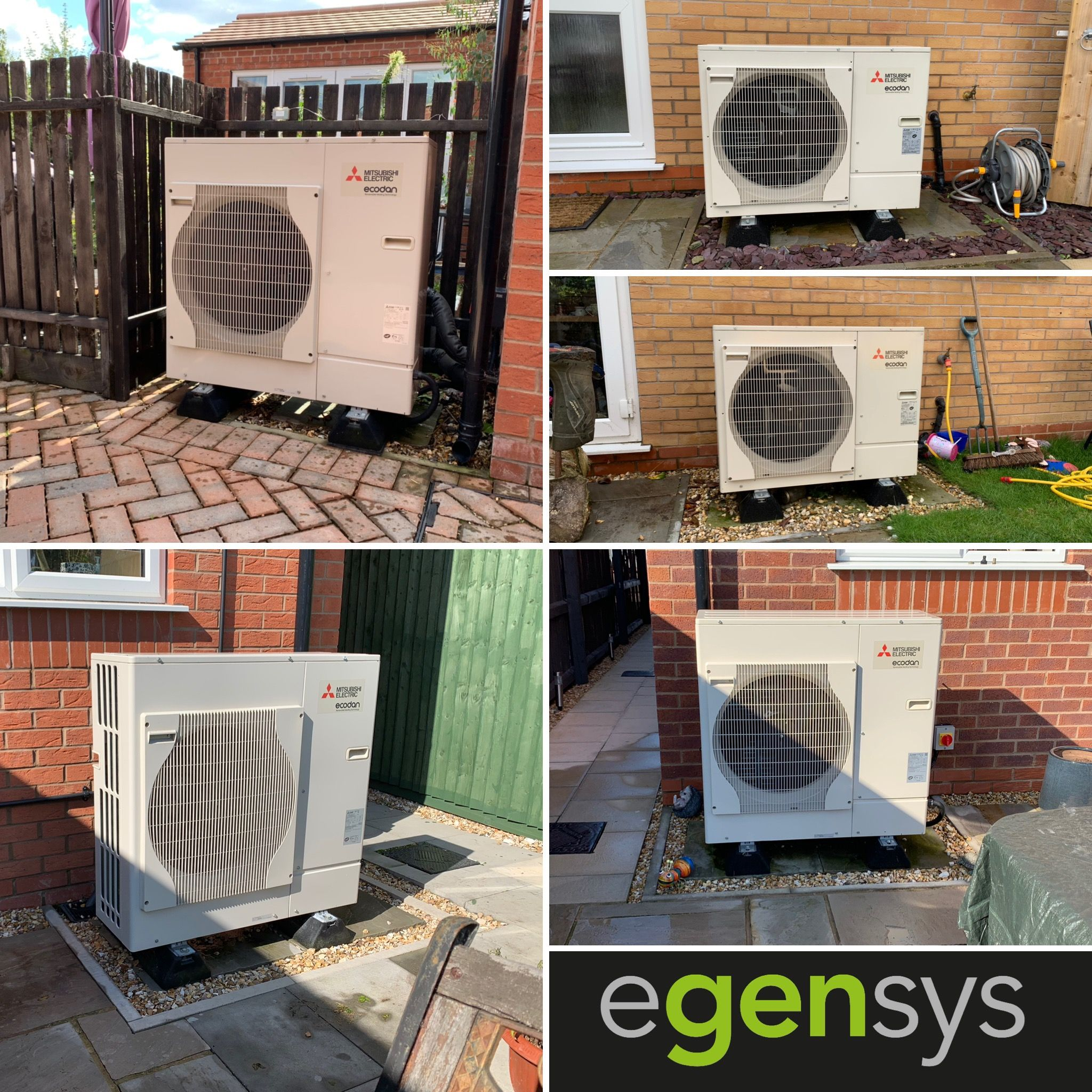 Air Source Heat Pumps are a standard installation