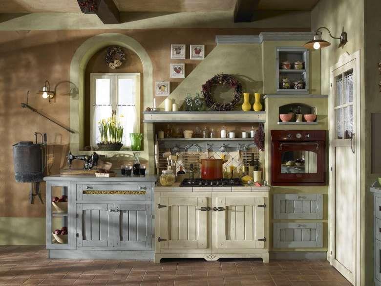 Cucine In Finta Muratura Cucina In Muratura Mobili Rustici Da Cucina Arredo Interni Cucina