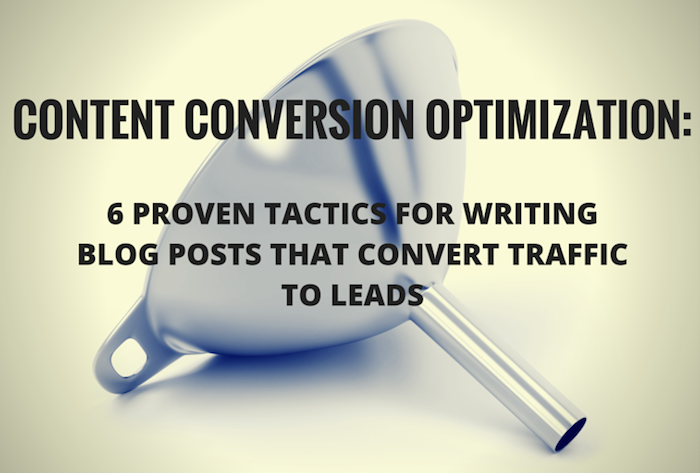 content conversion optimization