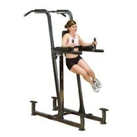 Body Solid Knee Raise Dip Chin Fcd Power Tower Dip Station