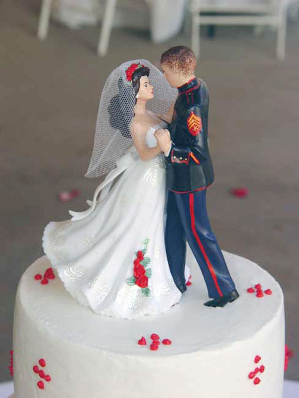 Marine-corps-wedding-cake-toppers Cakes In 2019 Marine