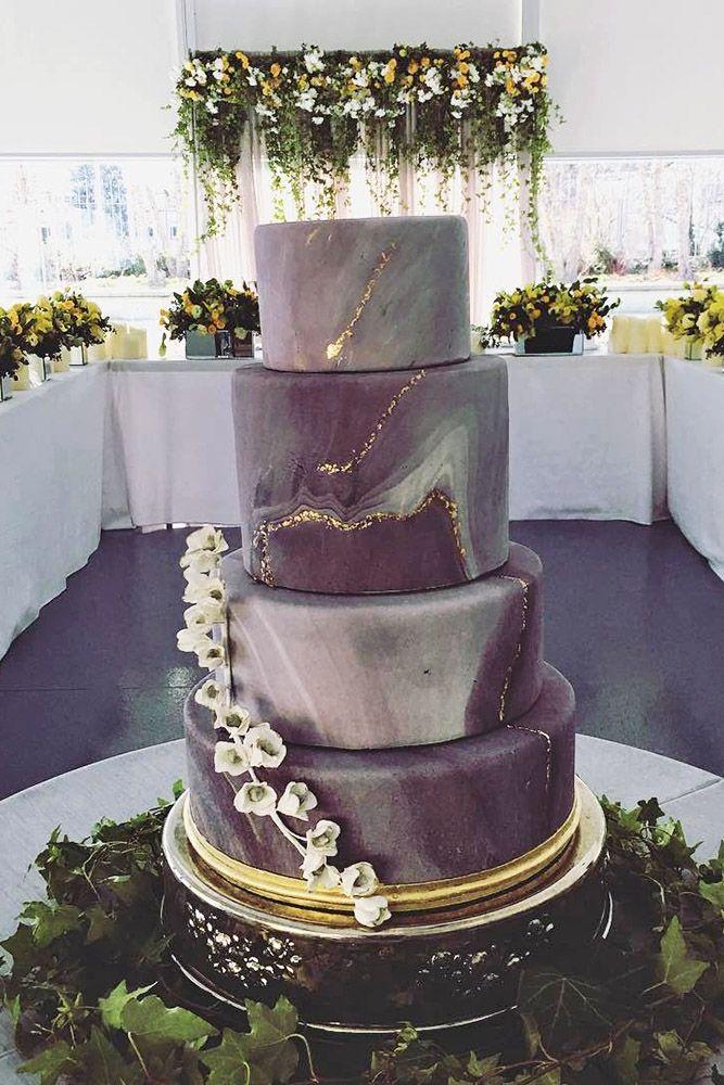 36 Trendy Marble Wedding Cakes   Wedding cakes, Wedding ...