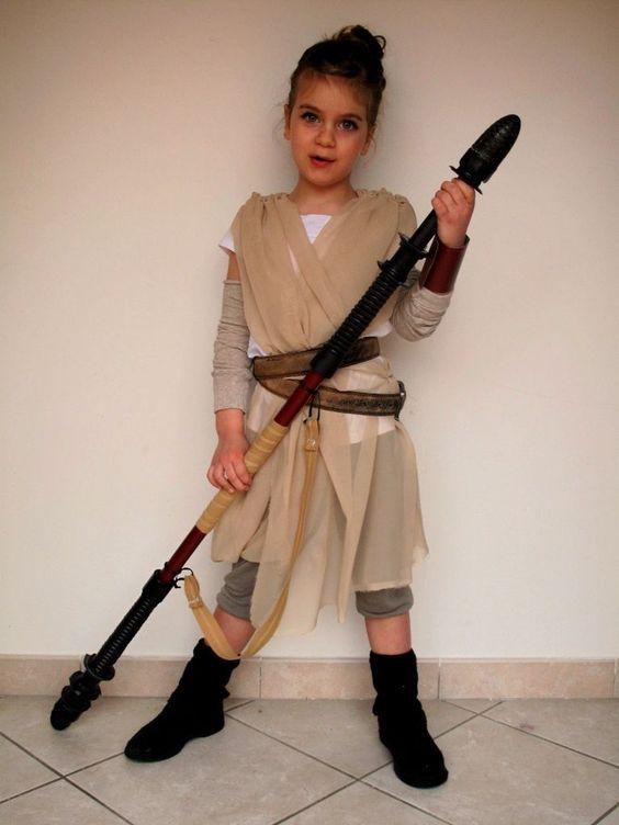 Star Wars Rey Kostüm selber machen | Kreativ | Pinterest | Halloween ...