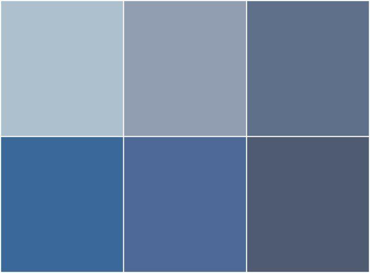 Peinture bleu gris l int rieur le bleu pigeon et le - Peinture bleu gris tollens ...
