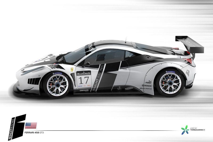 Racing Car Livery Design Thorqualmann Dk Race Cars Gt3 Car