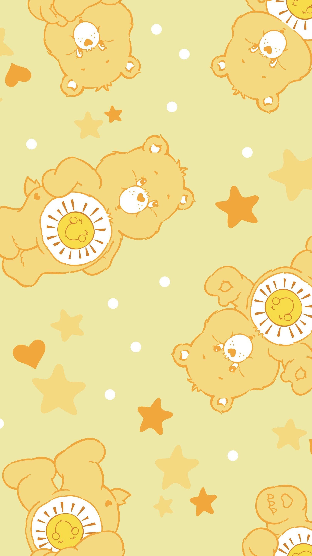 Care Bear Cartoon Wallpaper Bear Wallpaper Aesthetic Pastel Wallpaper