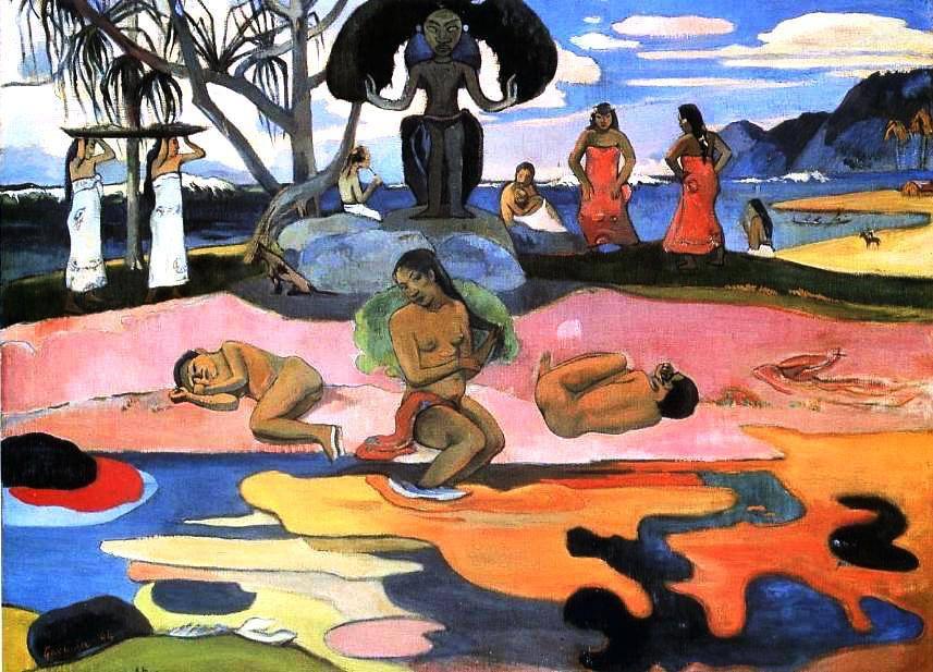 Paul Gauguin (1848-1903) Mahana no Atua (Je jour des dieux) 1894