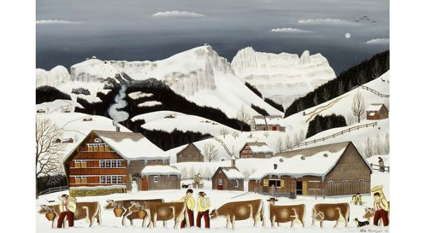 A Primer On Naive Swiss Art From Appenzell Being Swiss