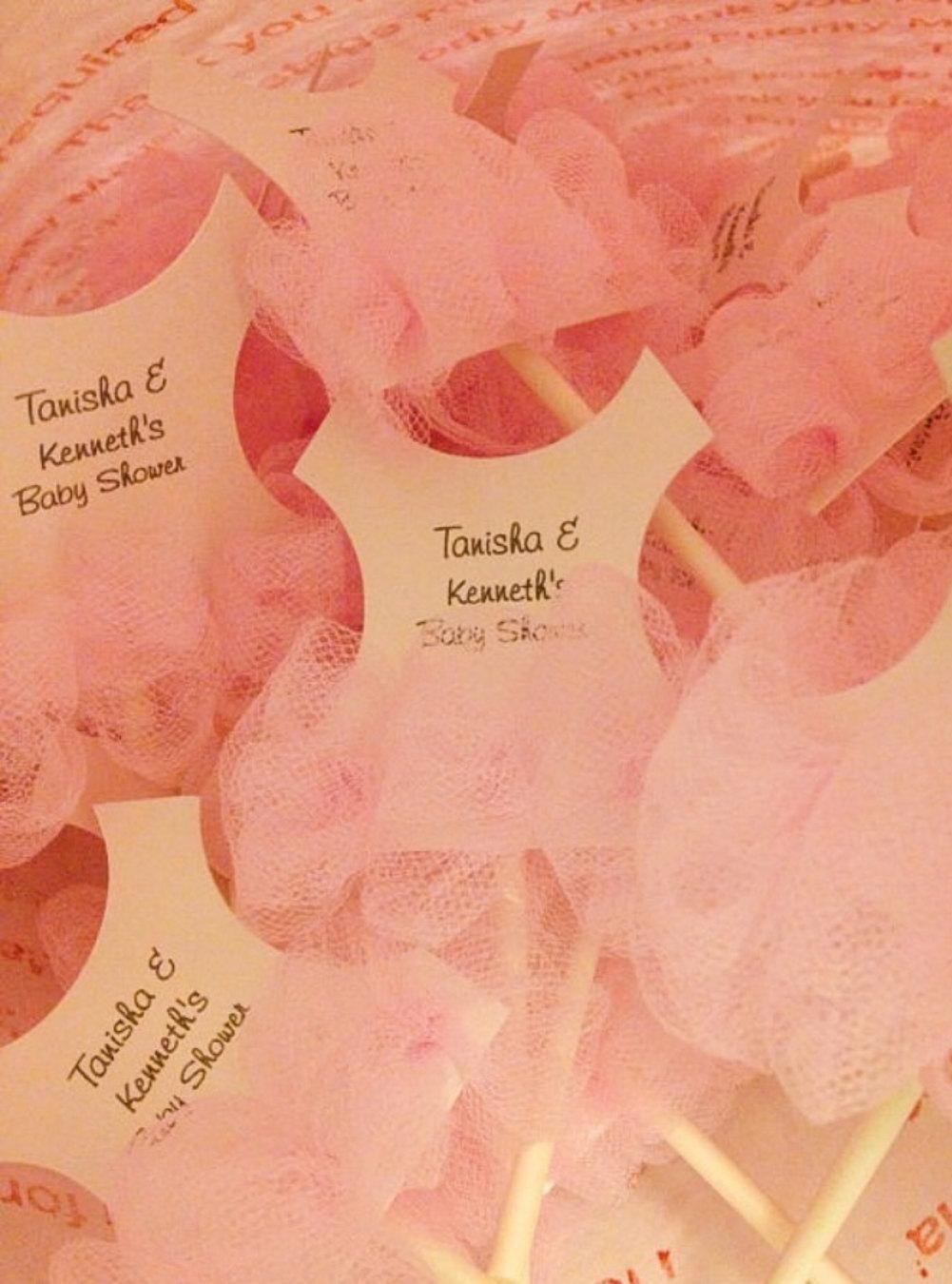 Set of 24 Tutu Baby shower cupcake toppers - Tutu Baby shower ...